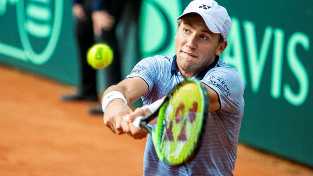 Ruud ute av double-dansen i Argentina Open