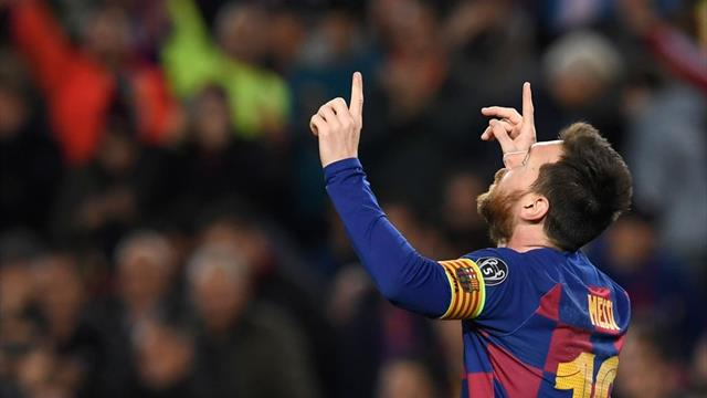 Messi inspires Barca win as Dortmund slip into third