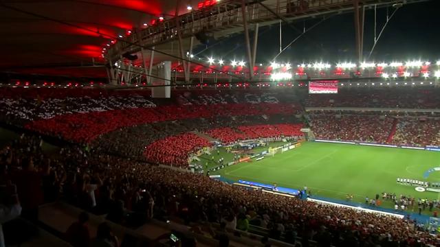 Flamengo fans welcome back team in Maracana after Copa Libertadores