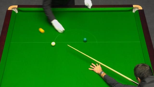 'Foul!' - O'Sullivan plays too fast for the referee