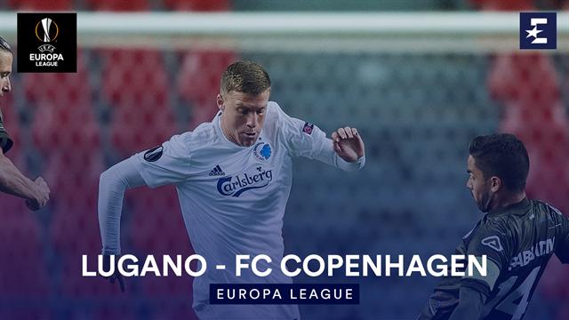 Höjdpunkter : Lugano - FC Copenhagen
