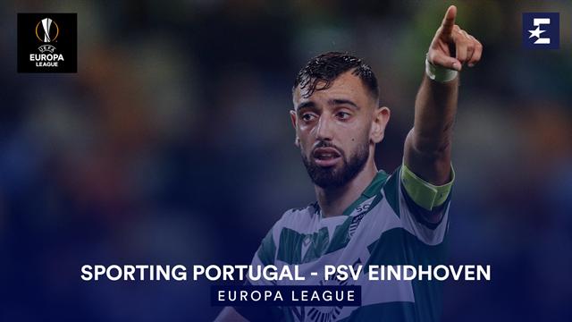 Höjdpunkter: Sporting Portugal - PSV Eindhoven