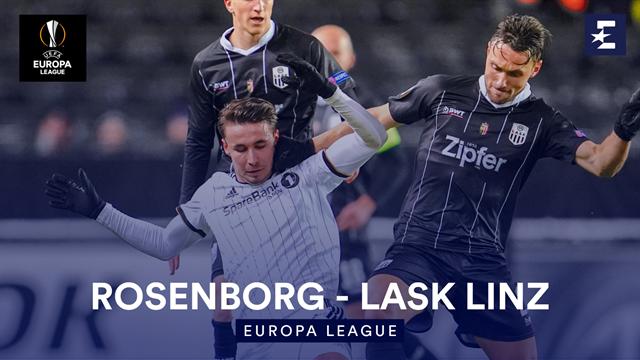 Höjdpunkter : Rosenborg - LASK Linz