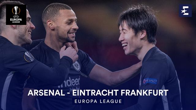 Höjdpunkter: Arsenal - Eintracht Frankfurt