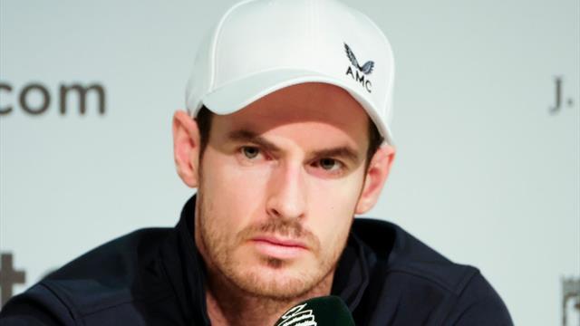 Forfait confirmé pour Andy Murray — Open d'Australie