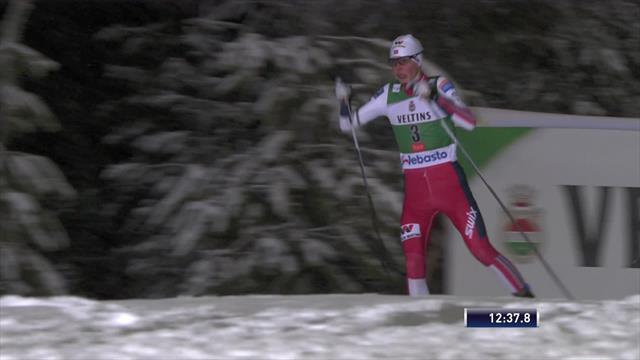 Riiber opens season in style