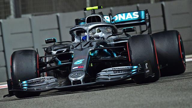 Libres 2 : Bottas le plus rapide avant un crash avec Grosjean