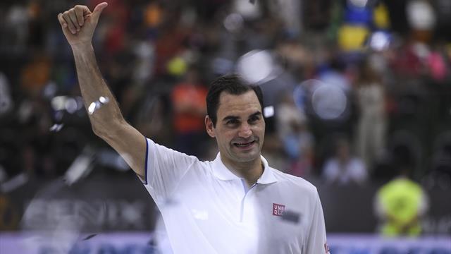 Федерер: «Идеальный теннисист должен обладать боевым духом Надаля и приемом Джоковича»