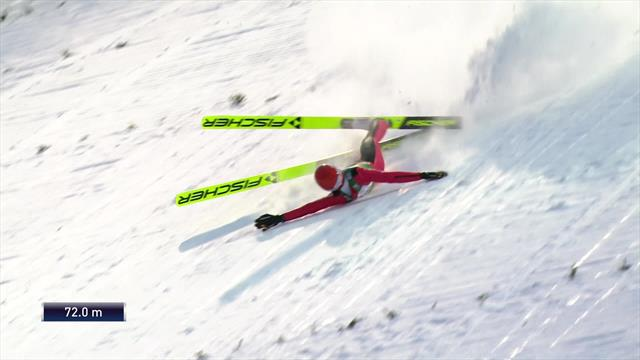 'Absolutely horrible' - Mach walks away from crash at high speed in Ruka