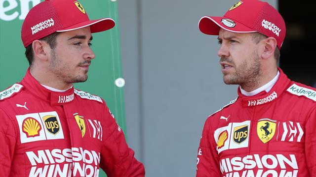 """Vettel tende la mano a Leclerc: """"Lotteremo insieme per il miglior risultato"""""""