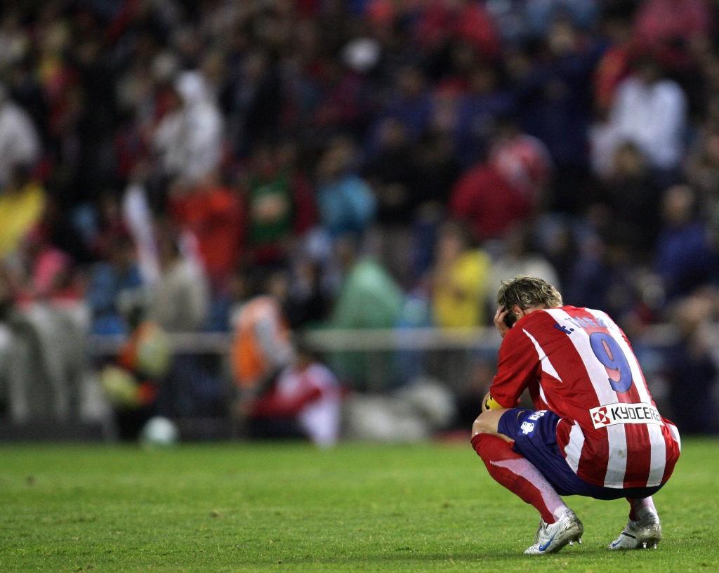 Fernando Torres destrozado