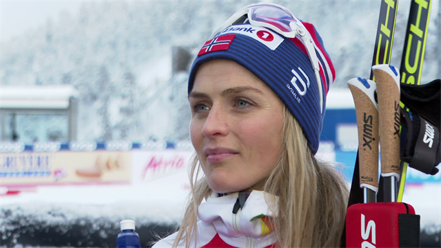 Johaug 'really happy' with World Cup win in Ruka