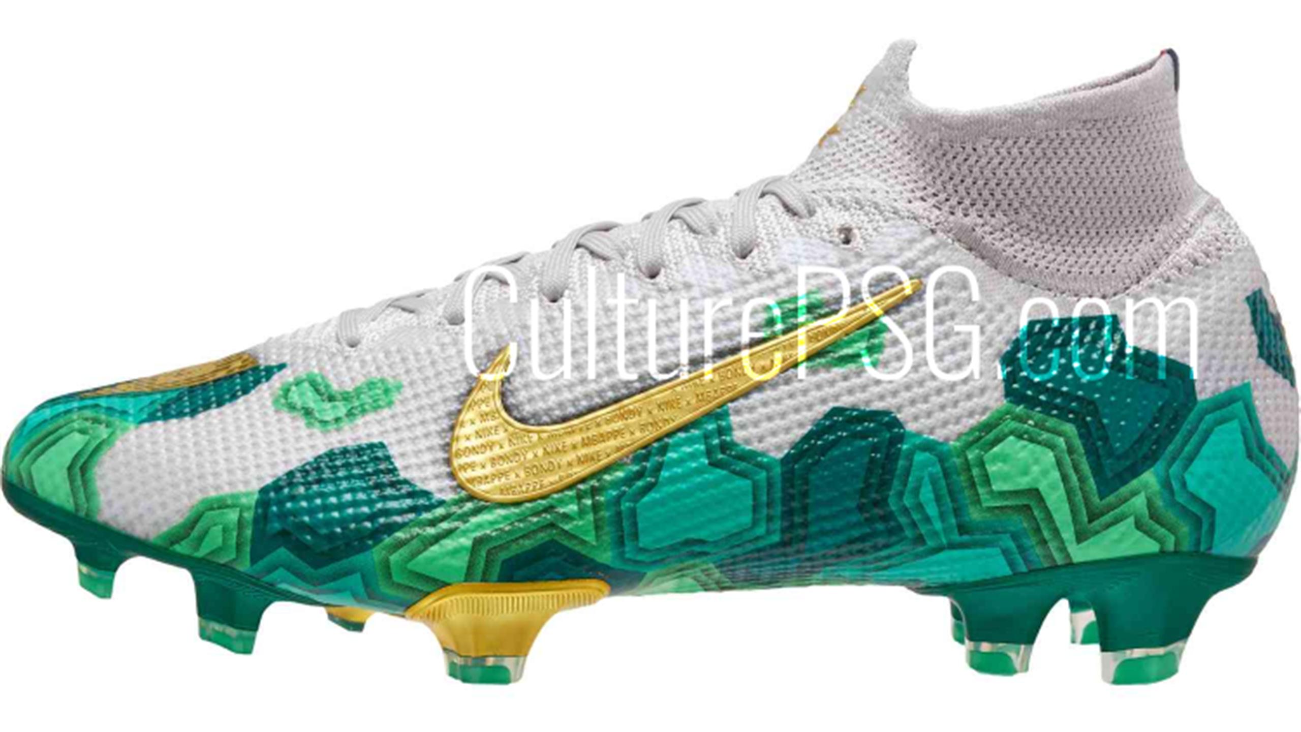 Des crampons aux couleurs de Bondy : Nike rend hommage à la