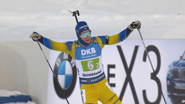 Highlights - Sweden take victory in single mixed relay