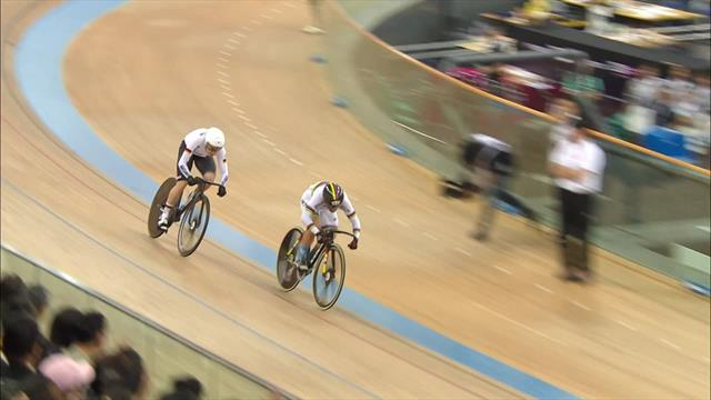 Lee wins gold at home in Hong Kong World Cup sprint final