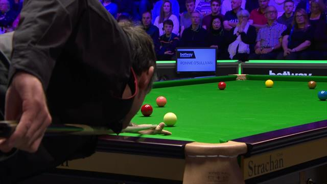 'What a great pot!' - O'Sullivan sinks outrageous long red