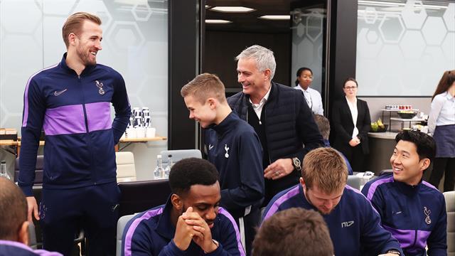 Mourinho invita a comer al recogepelotas que le salvó el partido de Champions