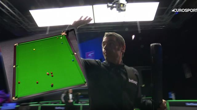 O'Sullivan sinks stunning long red before clinching victory