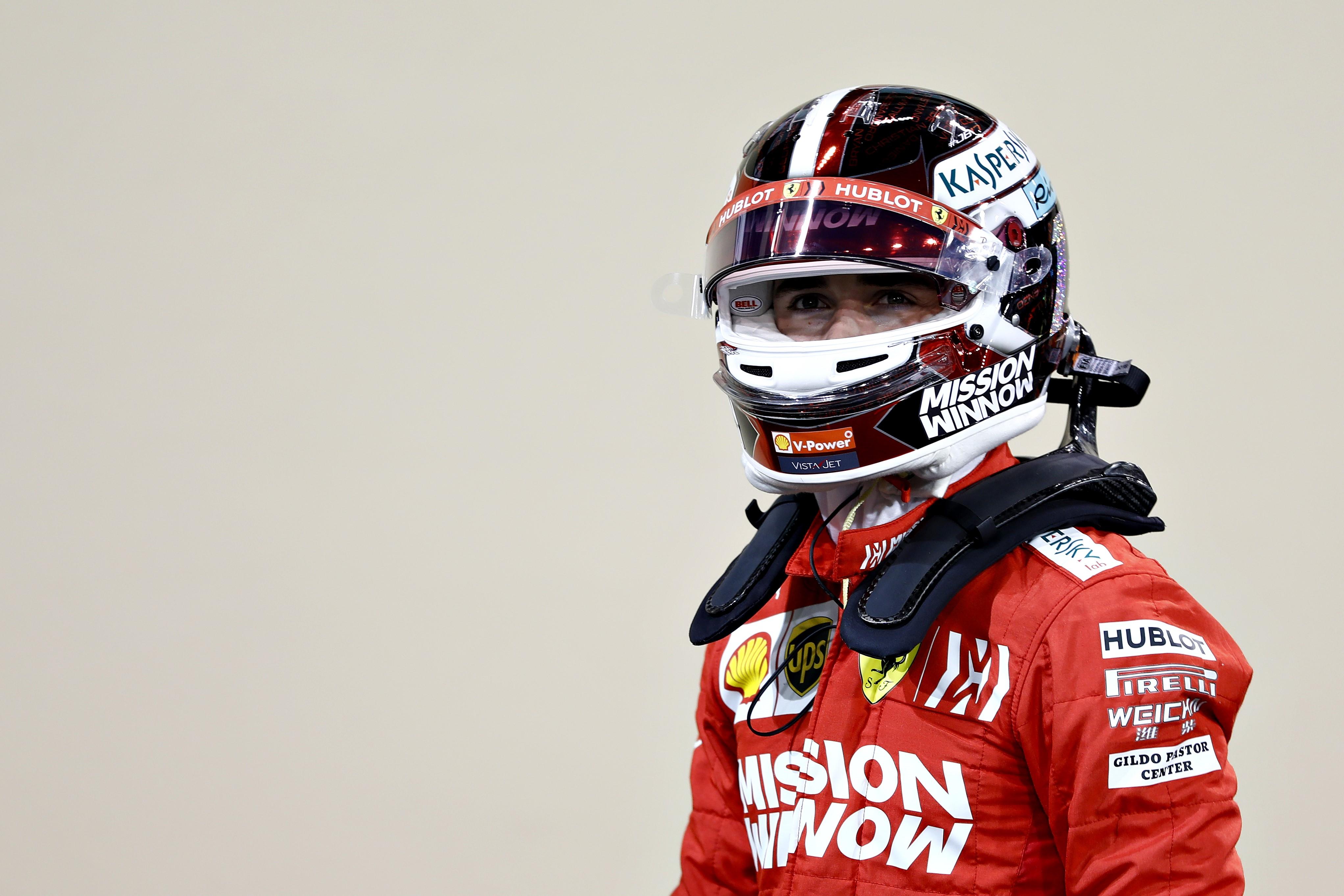 Charles Leclerc (Ferrari) au Grand Prix d'Abou Dabi 2019