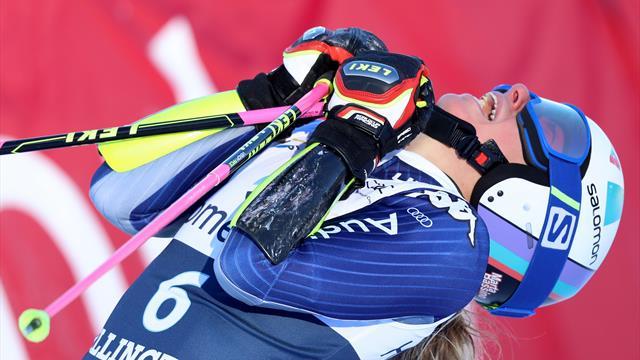 Bassino seals maiden victory to lead Italian one-two in Killington