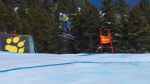 Paris has to settle for second at Lake Louise