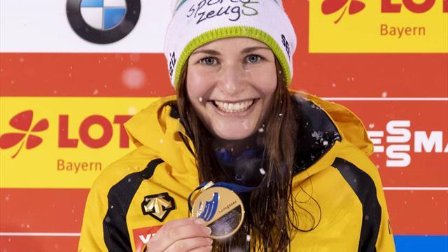 Rodeln: Taubitz gewinnt mit Bahnrekord - auch Wendl/Arlt vorn