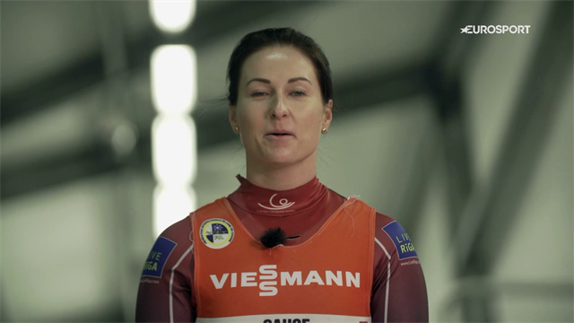What it takes to be a world-class luge star: 24 hours with Eliza Cauce
