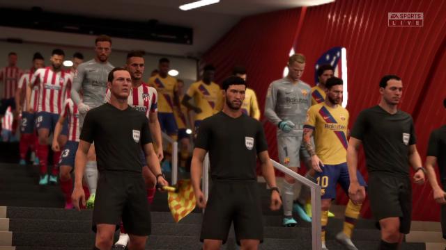 Liga Virtual: Así ha quedado el Atleti-Barça