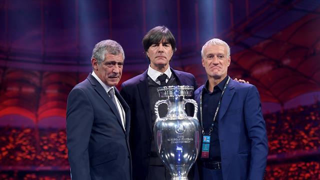 Йоахим Лёв иронично отреагировал на попадание Германии в группу смерти Евро-2020