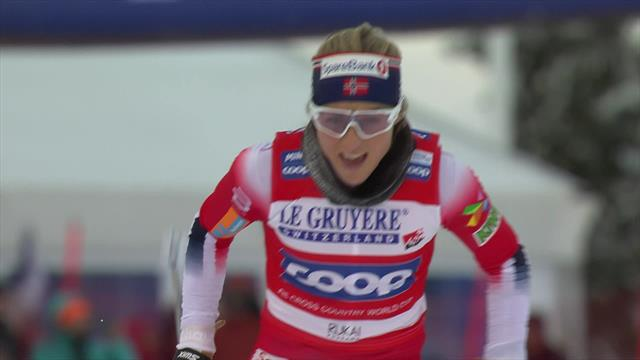 Highlights - Johaug win pursuit