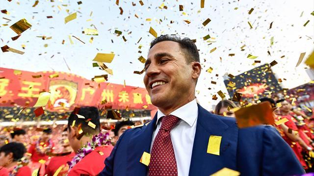 CINA, L'Evergrande di Cannavaro vince il campionato