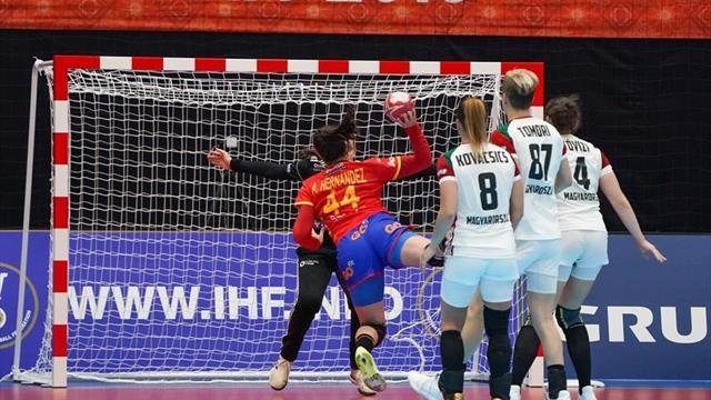 Mundial femenino, España-Hungría: Golpe sobre la mesa (29-25)