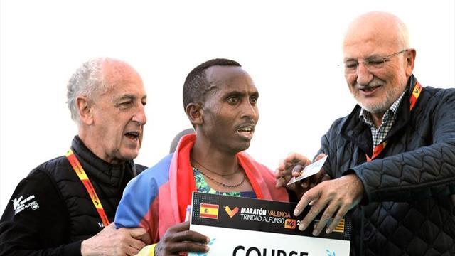 Maratón de Valencia: Aleyew se exhibe y se da un paseo triunfal