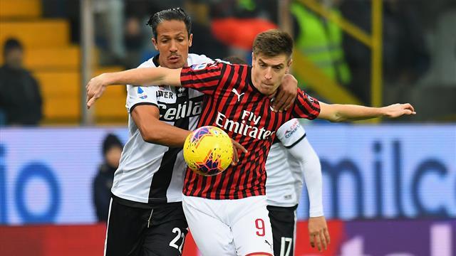 Le pagelle di Parma-Milan 0-1: Conti redivivo, Piatek ancora a digiuno. Darmian-Alves, che pasticcio