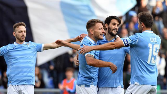 La Lazio vise le sommet de l'Olympe