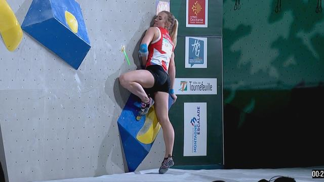 This is how hard climbing really is - Klapina fails to get off the ground in four minutes