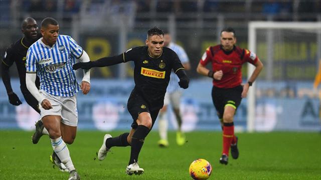 Inter, noul lider din Italia. Lautaro Martinez continuă forma excelentă din atacul milanezilor