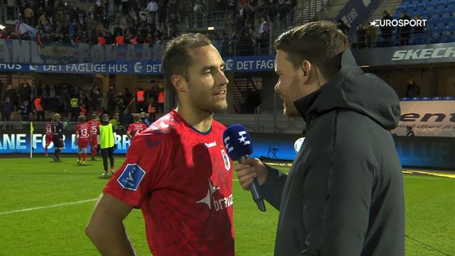 Backman efter forløsende sejr over Esbjerg: Da de scorede til 1-1, tænkte jeg f*ck!