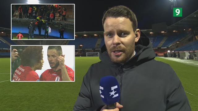 AGF-fan er faldet fra øvre afsnit under måljublen: Heldigvis positive opdateringer fra stadion