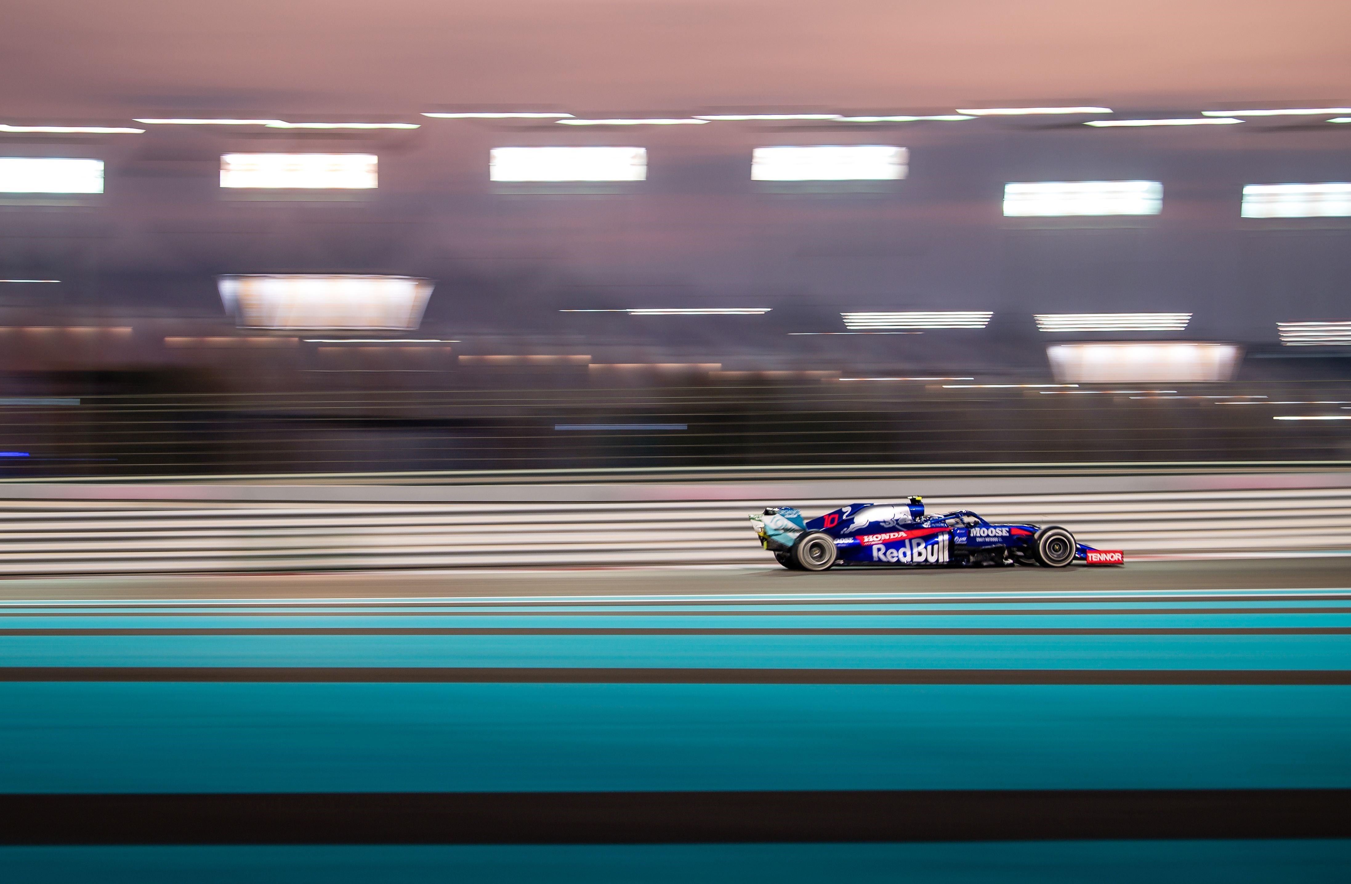Pierre Gasly (Toro Rosso) au Grand Prix d'Abou Dabi 2019