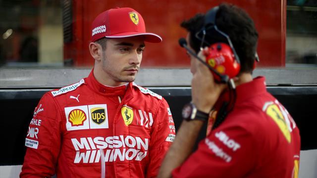 50.000 euros d'amende pour Ferrari, clémence pour Leclerc