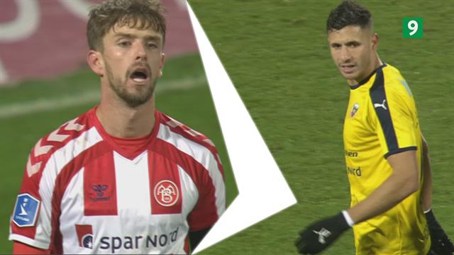 Highlights: Thelanders selvmål kostede dyrebare point for AaB i lokalt remis mod heroiske Hobro