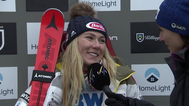 Shiffrin - I thought I was going to fall at every gate