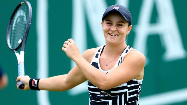 Barty élue joueuse de l'année WTA