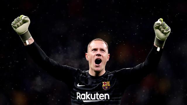 Performanță extraordinară reușită de Ter Stegen! Neamțul l-a întrecut pe Messi la un capitol