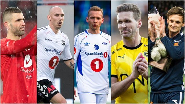 Eliteserie-legendene legger opp – dette var deres karrierer