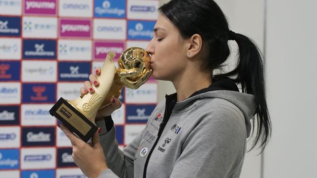 Prima reacție a Cristinei Neagu după ce a câștigat premiul pentru cea mai bună handbalistă în 2018