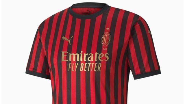 Il Milan compie 120 anni: ecco la maglia celebrativa del club rossonero