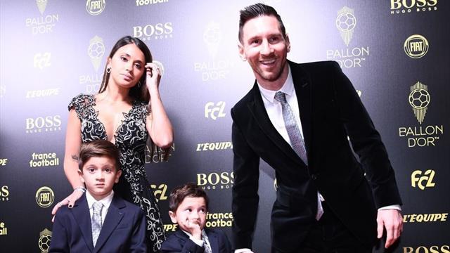 El conmovedor vídeo de la familia de Messi al argentino tras recibir el Balón de Oro