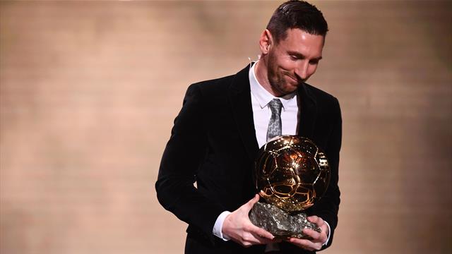 """Messi: """"Era inimaginable pensar en un Balón de Oro y mucho menos en seis"""""""